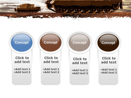 Tank Attack PowerPoint Template Slide 5