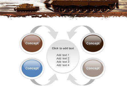 Tank Attack PowerPoint Template Slide 6