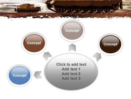 Tank Attack PowerPoint Template Slide 7