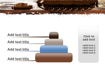 Tank Attack PowerPoint Template Slide 8
