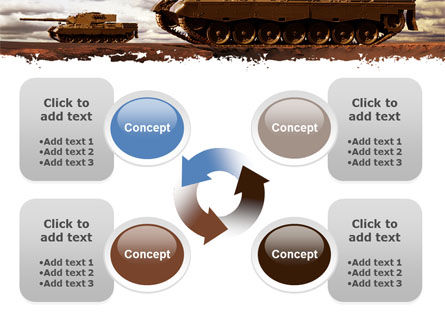 Tank Attack PowerPoint Template Slide 9