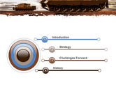 Tank Attack PowerPoint Template#3