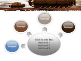 Tank Attack PowerPoint Template#7