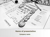 Construction: Landscape Design PowerPoint Template #10261