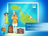 Careers/Industry: Holiday-Makers PowerPoint Template #10262