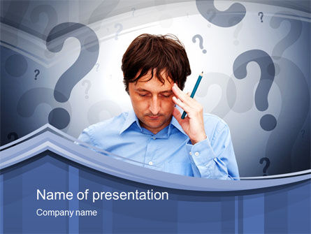 Poser PowerPoint Template