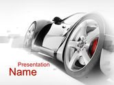 Art & Entertainment: Tuning PowerPoint Template #10264