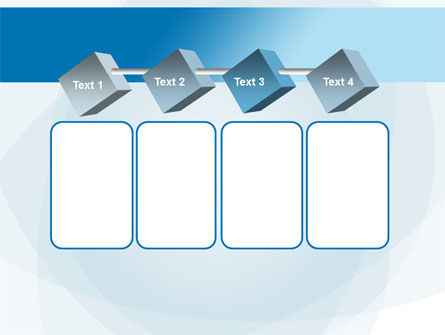 Blue Shapes PowerPoint Template Slide 18