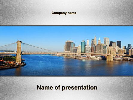 Brooklyn Bridge PowerPoint Template