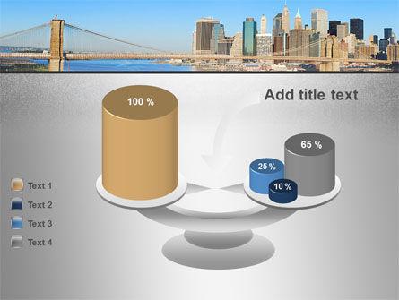 Brooklyn Bridge PowerPoint Template Slide 10