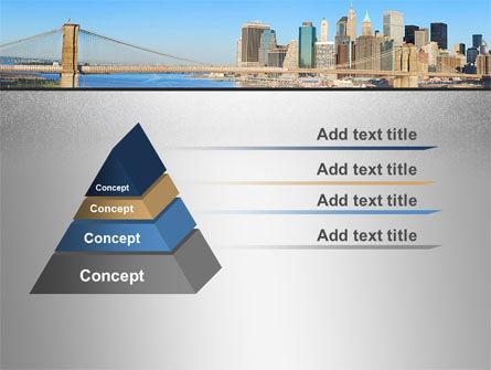 Brooklyn Bridge PowerPoint Template Slide 12