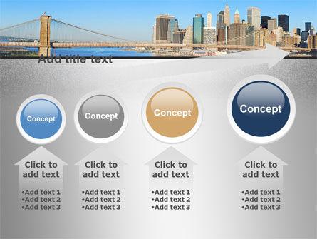 Brooklyn Bridge PowerPoint Template Slide 13