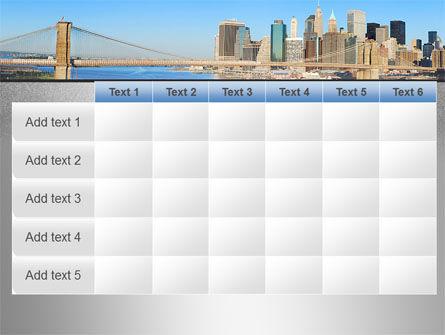 Brooklyn Bridge PowerPoint Template Slide 15