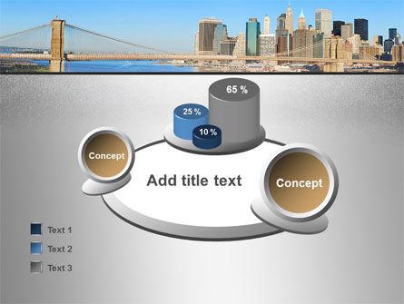 Brooklyn Bridge PowerPoint Template Slide 16