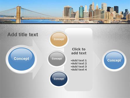 Brooklyn Bridge PowerPoint Template Slide 17