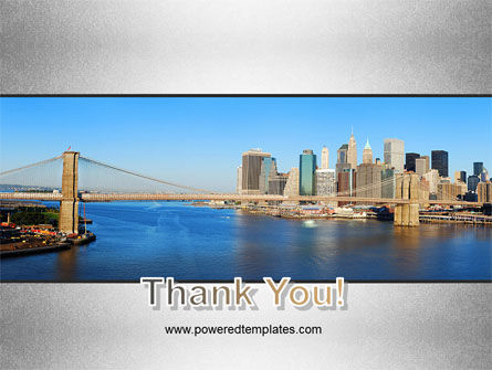 Brooklyn Bridge PowerPoint Template Slide 20