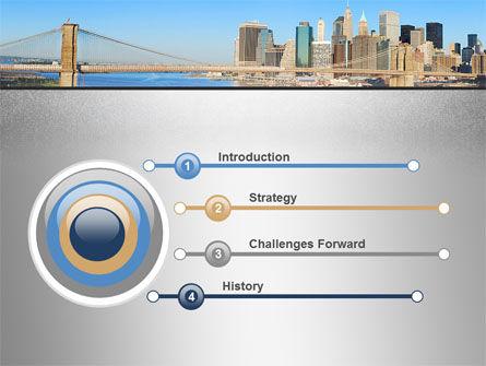 Brooklyn Bridge PowerPoint Template Slide 3
