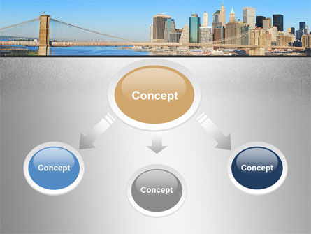 Brooklyn Bridge PowerPoint Template Slide 4