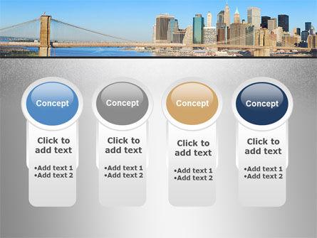 Brooklyn Bridge PowerPoint Template Slide 5
