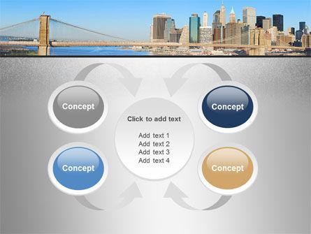 Brooklyn Bridge PowerPoint Template Slide 6