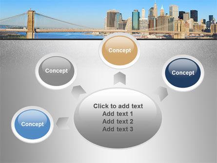 Brooklyn Bridge PowerPoint Template Slide 7