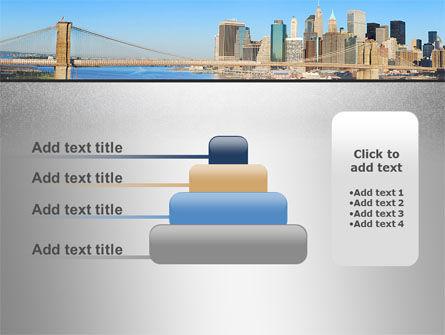 Brooklyn Bridge PowerPoint Template Slide 8
