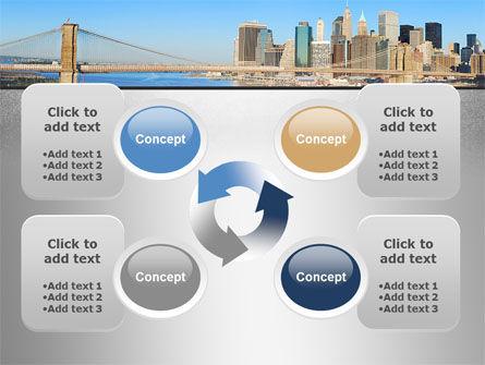 Brooklyn Bridge PowerPoint Template Slide 9