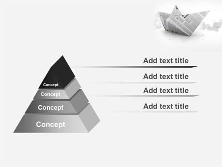 Paper Boat PowerPoint Template Slide 12