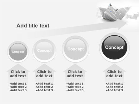 Paper Boat PowerPoint Template Slide 13