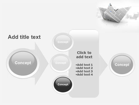 Paper Boat PowerPoint Template Slide 17