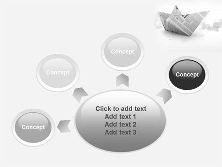 Paper Boat PowerPoint Template Slide 7