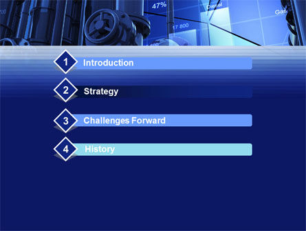 Industrial Economy PowerPoint Template, Slide 3, 10270, Utilities/Industrial — PoweredTemplate.com