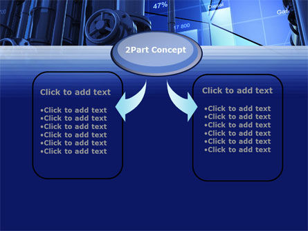 Industrial Economy PowerPoint Template, Slide 4, 10270, Utilities/Industrial — PoweredTemplate.com