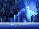 Utilities/Industrial: Industrial Economy PowerPoint Template #10270