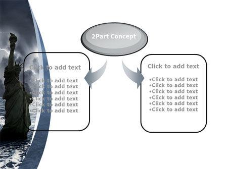 Catastrophe PowerPoint Template, Slide 4, 10271, Nature & Environment — PoweredTemplate.com