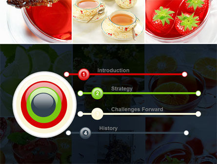 Fruit Desserts PowerPoint Template Slide 3