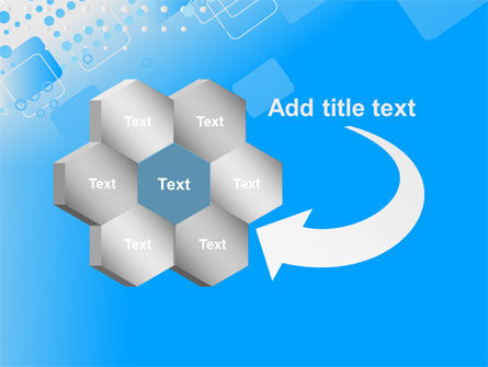 Dotted Blue PowerPoint Template Slide 11
