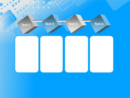 Dotted Blue PowerPoint Template Slide 18