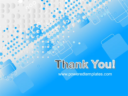 Dotted Blue PowerPoint Template Slide 20