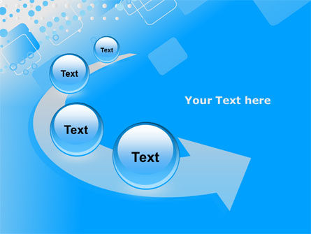 Dotted Blue PowerPoint Template Slide 6