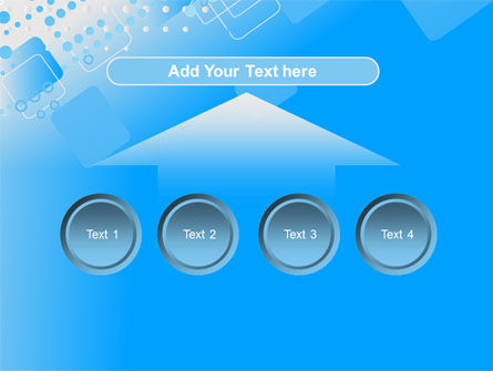Dotted Blue PowerPoint Template Slide 8