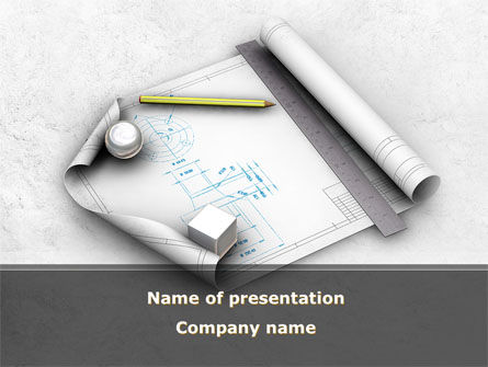 Industrial Design PowerPoint Template, 10277, Careers/Industry — PoweredTemplate.com