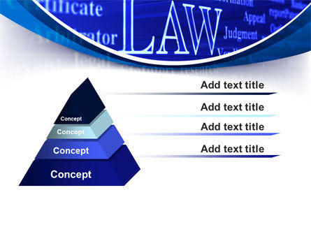 Law PowerPoint Template Slide 12