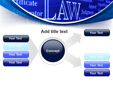 Law PowerPoint Template Slide 14