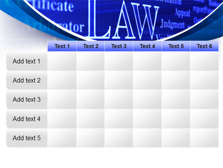 Law PowerPoint Template Slide 15
