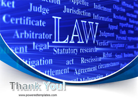 Law PowerPoint Template Slide 20