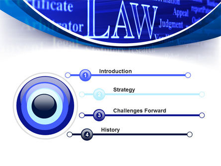 Law PowerPoint Template Slide 3