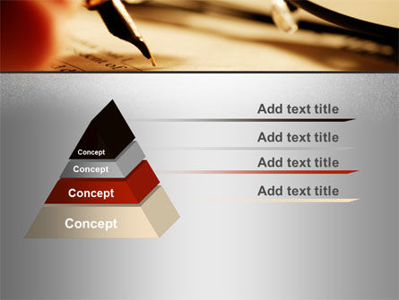 Pen Signing PowerPoint Template Slide 12