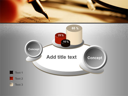 Pen Signing PowerPoint Template Slide 16