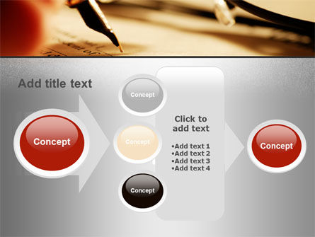 Pen Signing PowerPoint Template Slide 17